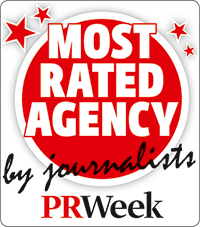 Most Rated Agency by journalists - PR Week